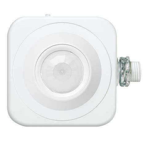 hton bay motion sensor light lithonia lighting outdoor 180 176 detection zone motion