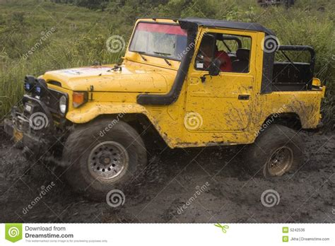 Jeep Competitors Jeep On Competition Royalty Free Stock Image Image