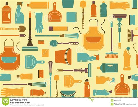 seamless background  cleaning stock vector