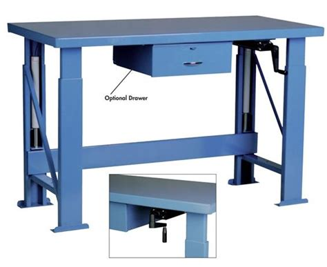hydraulic work bench pucel workbenches