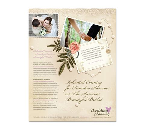 Wedding Planner Flyer by Wedding Planner Flyer Template