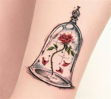 enchanted rose tattoo 234 best ideas about disney ideas on