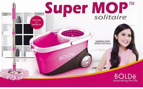 Alat Pel Mop Bolde Solitaire Tempat Sabun Stainless Mop Bolde New Ori Solitaire Istanamurah