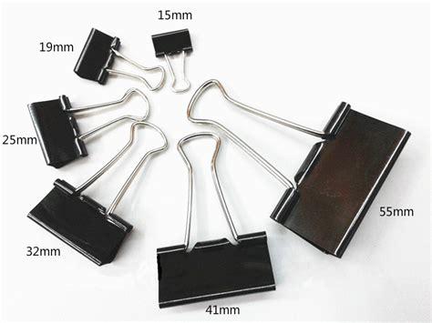 Binder Clip 5 Ukuran buy wholesale black paper from china black