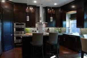 Expresso Kitchen Cabinets by Espresso Kitchen Cabinets Kitchen Contemporary With Custom