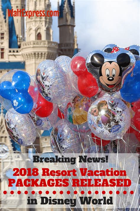 disney world resort packages 2018 disney world resort vacation packages available to