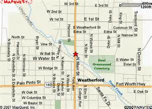 where is weatherford on the map blounts tree service dfw