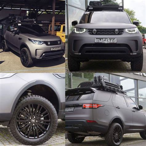 land rover discovery modified matzker modified discovery 5 landrover