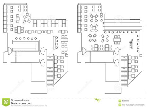 layout plan of a computer cafe connected to a network standard furniture symbols used in architecture cartoon