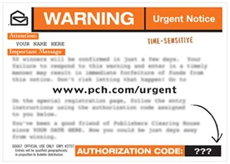Www Pch Com Urgent - what to do if you receive a pch com urgent post card pch blog