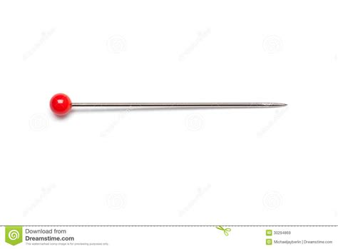 single needle pin stock image image of arts objects