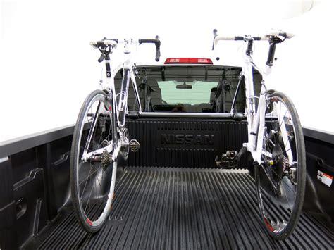 yakima truck bed bike rack yakima bikerbar truck bed mounted 2 bike carrier locking