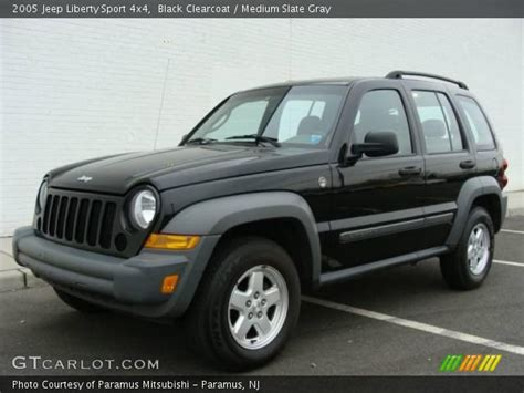 black jeep liberty 2005 black clearcoat 2005 jeep liberty sport 4x4 medium