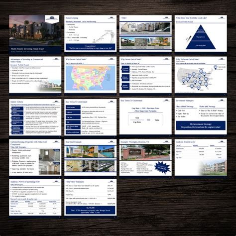 Real Estate Investment Company Powerpoint Template Powerpoint Template Contest Real Estate Investment Powerpoint Template