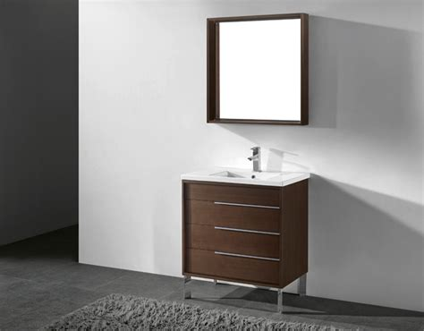 30 inch modern white bathroom vanities free standing all wood vanity