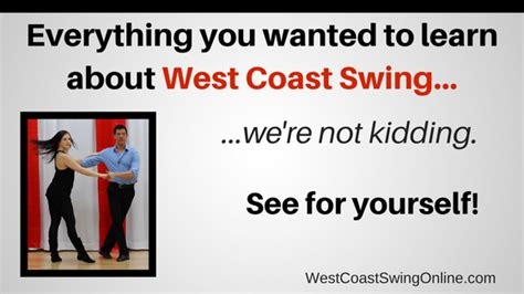 what is west coast swing body rolls and connection west coast swing online