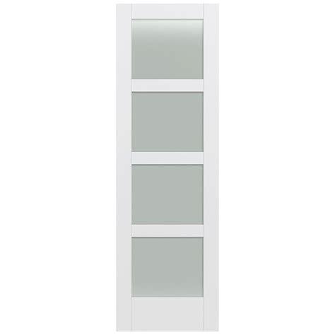 jeld wen 32 in x 96 in moda primed white 4 lite solid