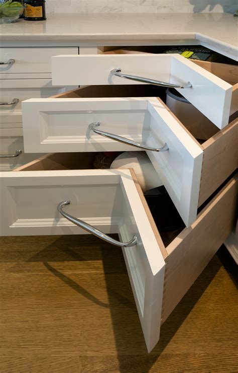 corner drawers corner drawers optimize space in your kitchen tms architects