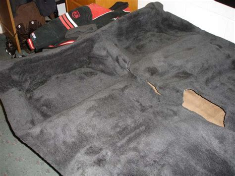 Replace Section Of Carpet by How To Install Automotive Carpet Floor Matttroy