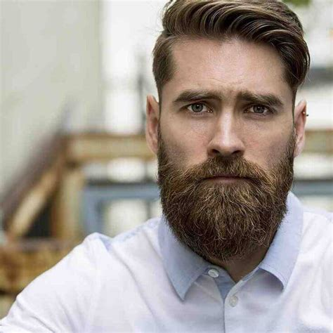 Hairstyles With Beard by Choosing The Hairstyle And Beard Combination