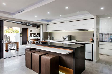 Kitchen Island Perth by Inspired Backless Bar Stools In Kitchen Contemporary With