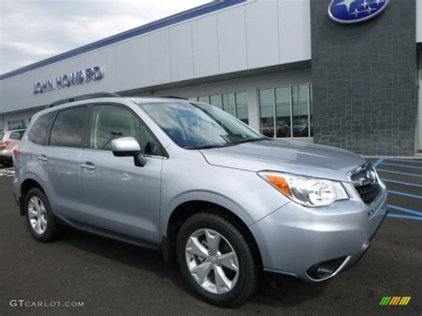 subaru metallic 2016 ice silver metallic subaru forester 2 5i limited