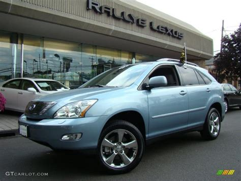 lexus light blue 2007 breakwater blue metallic lexus rx 350 awd 32808290