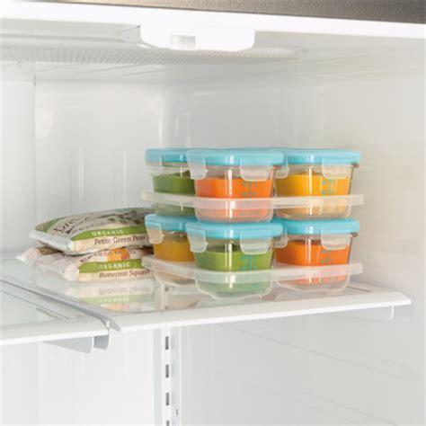 Freezer Aqua 4 Rak oxo tot glass baby blocks freezer storage containers 120ml aqua