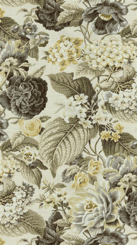 floral home decor fabric home decor print fabric waverly floral flourish shale at