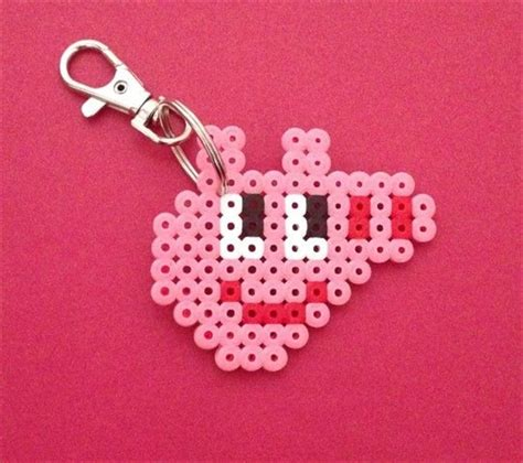 how to make a perler bead keychain perler keychain firstmomsclub