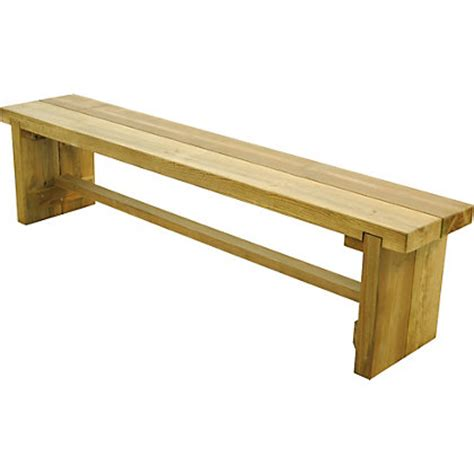sleeper bench forest double sleeper bench 1 8m