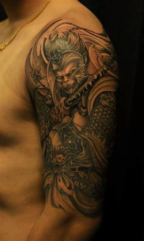 monkey king tattoo top sun wukong the monkey king s in lists