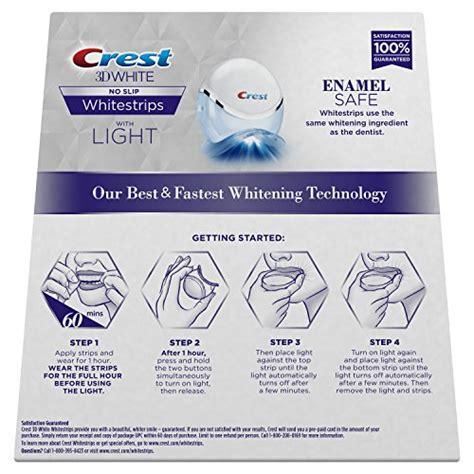 crest  white whitestrips  light teeth whitening kit