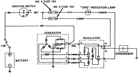 wiring diagram 1 chevy external voltage regulator wiring