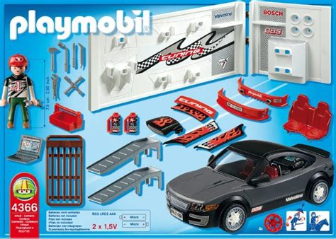 Playmobil Tuning Auto by Playmobil 4365 4366 Tuning Voiture De Course Avec La