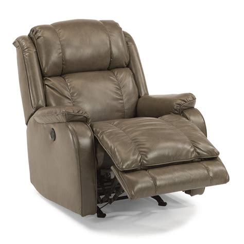 flexsteel 2849 51m fabric power rocking recliner