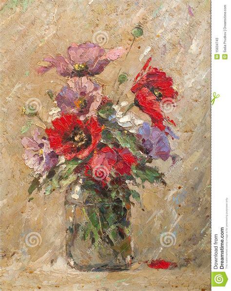 fiori nel vaso fiori nel vaso illustrazione di stock illustrazione di