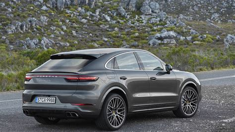 2020 porsche cayenne model 2020 porsche cayenne coupe gets rakish sports redesign