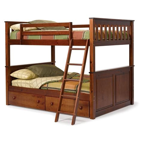 wooden bunk beds with futon modern kids bedroom with unstained wooden oak bunk bed
