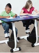 kinesthetic classroom pedal desks object moved
