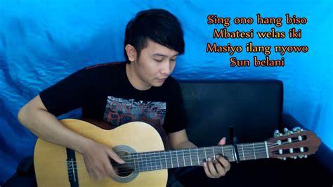 tutorial fingerstyle nathan demy kanggo riko nathan fingerstyle youtube