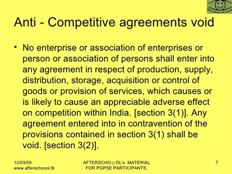 section 3 of competition act section 3 of competition act 28 images presentation on