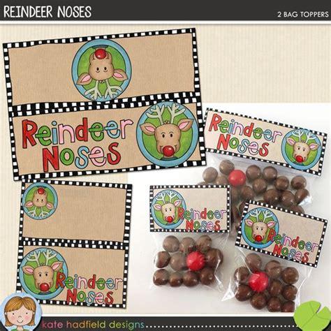 printable reindeer noses labels 97 best images about printables on pinterest reindeer