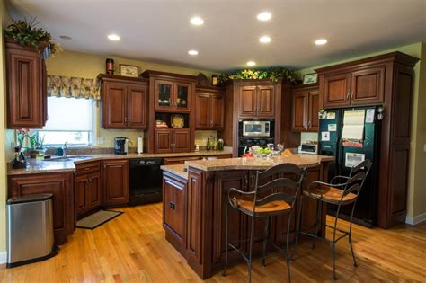 2 Tiered Island Kitchen Google Search Renovating Ideas Two Tier Kitchen Island Designs