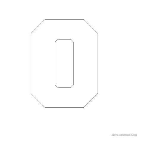 printable block number stencils alphabet stencils o printable stencils alphabet o