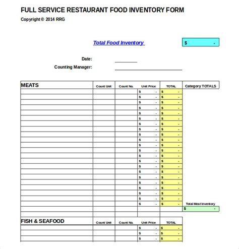Quality Checklist Template Excel