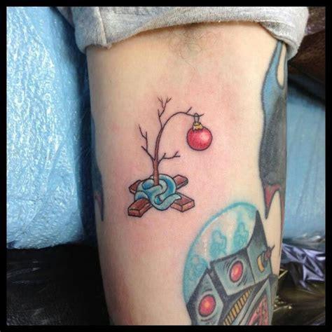 christmas tree tattoo donavan kinyon golden owl napa ca tats and all