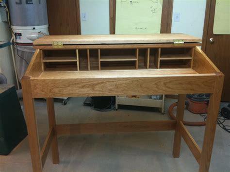 standing desk  scottt  lumberjockscom woodworking
