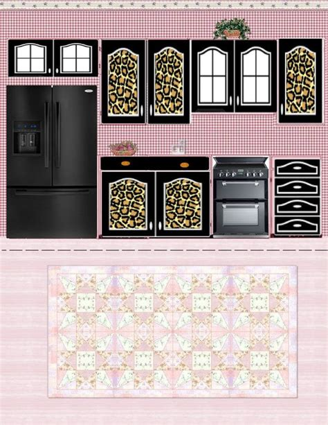 printable barbie house free printable dollhouse kitchen via julieta sandoval