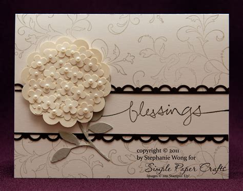 Wedding Card by Wedding Simple Paper Crafts